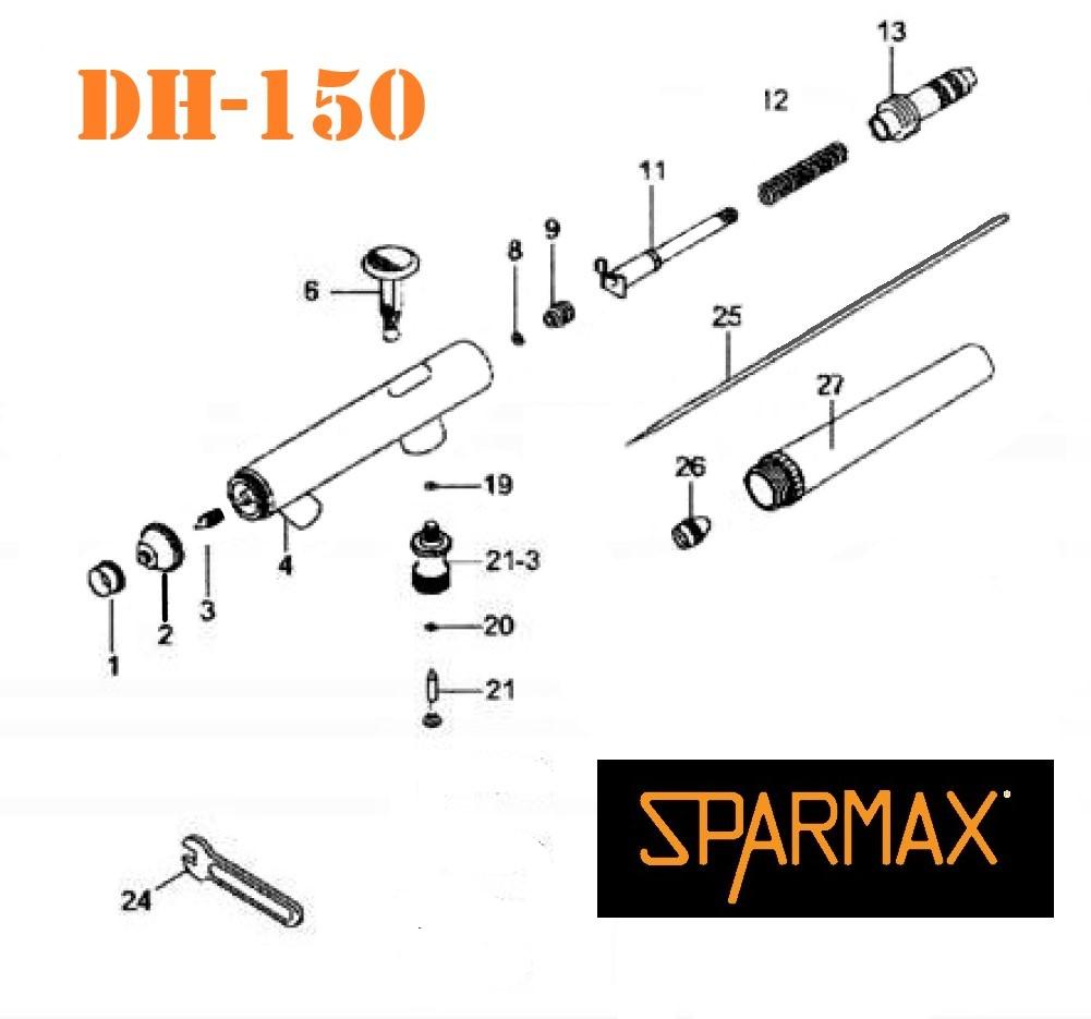 Diagrama Sparmax DH-150